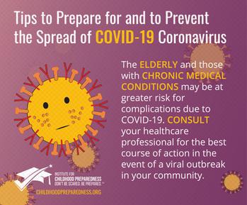 Tips to prepare and prevent the spread of covid