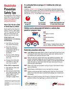 heatstroke awareness tips