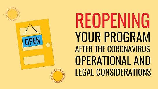 reopening your program thumbnail