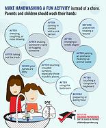 handwashing and flu info-graphic