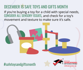 Safe toy and gifts month social tile 3