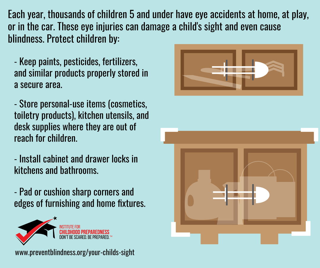 How to keep children's eyes safe