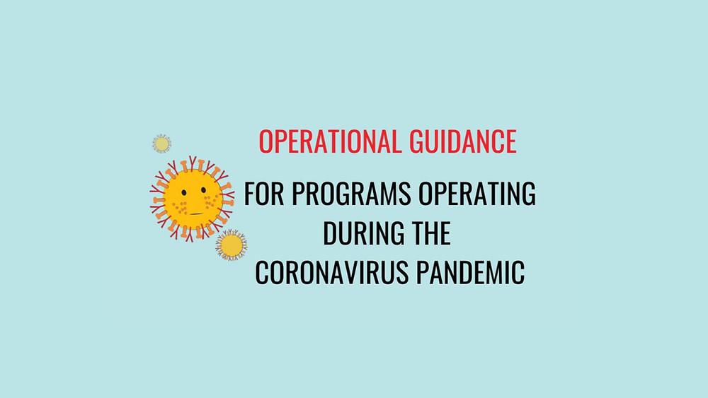 operational guidance, child care, child care provider, child care program, daycare, preschool, prek, teacher