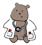 doctor bear illustration