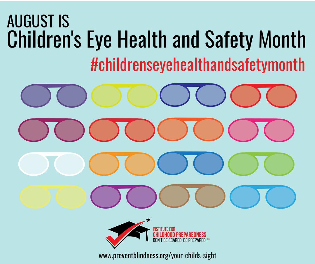 Children's Eye safety month