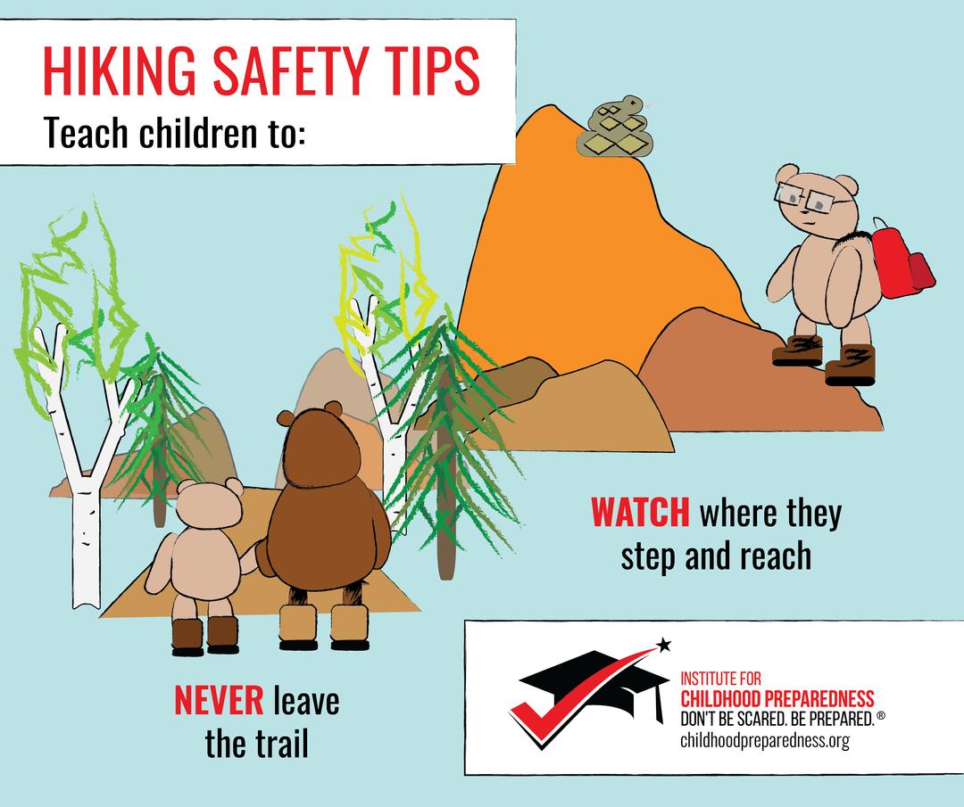 Hiking Safety Children Tips