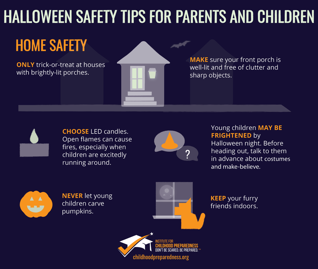 Home safety for halloween