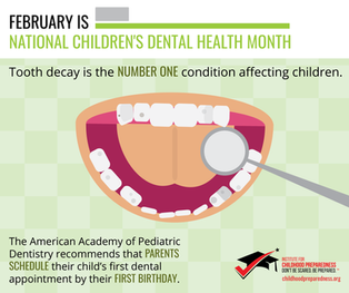 National Tooth Decay Children's Dental Health Month