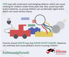 Avoid Toys with Small Parts Safe Toys and Gifts month
