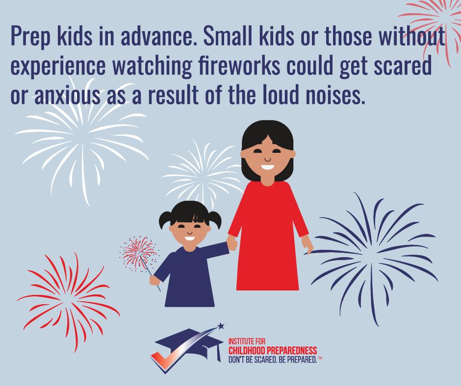 Prepare Kids for Fireworks
