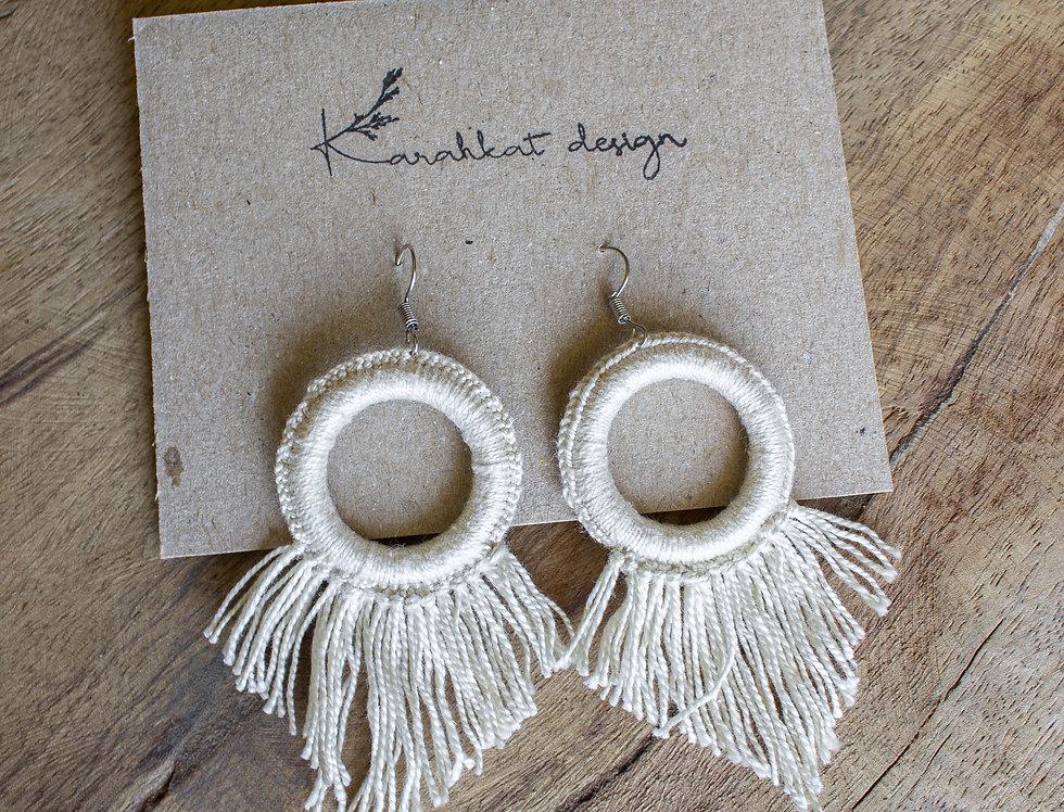 Mini viuhka - earrings