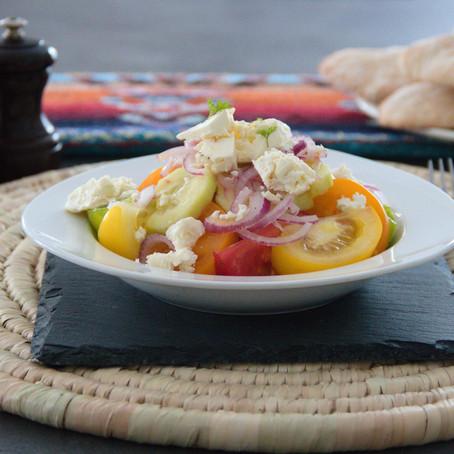 """""""Shopska"""" - la salade bulgare"""