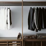 timber closet