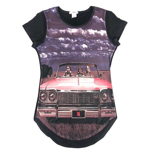 Pink 64 (womens shirt)