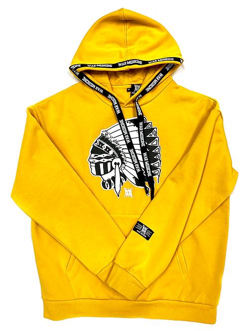 Big Chief hoodie (yellow)