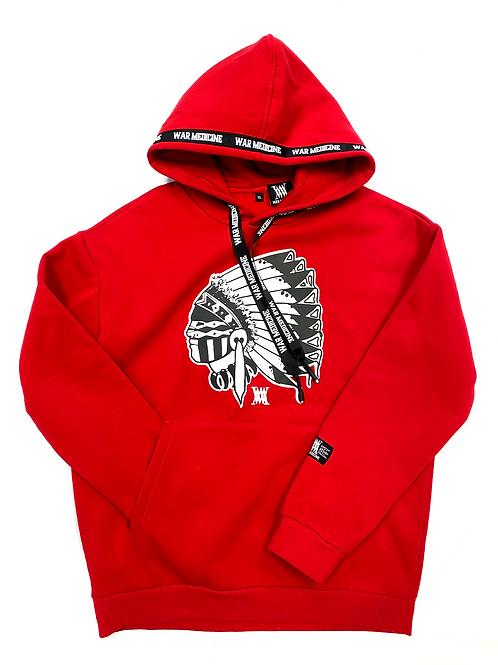 Big Chief hoodie (red)
