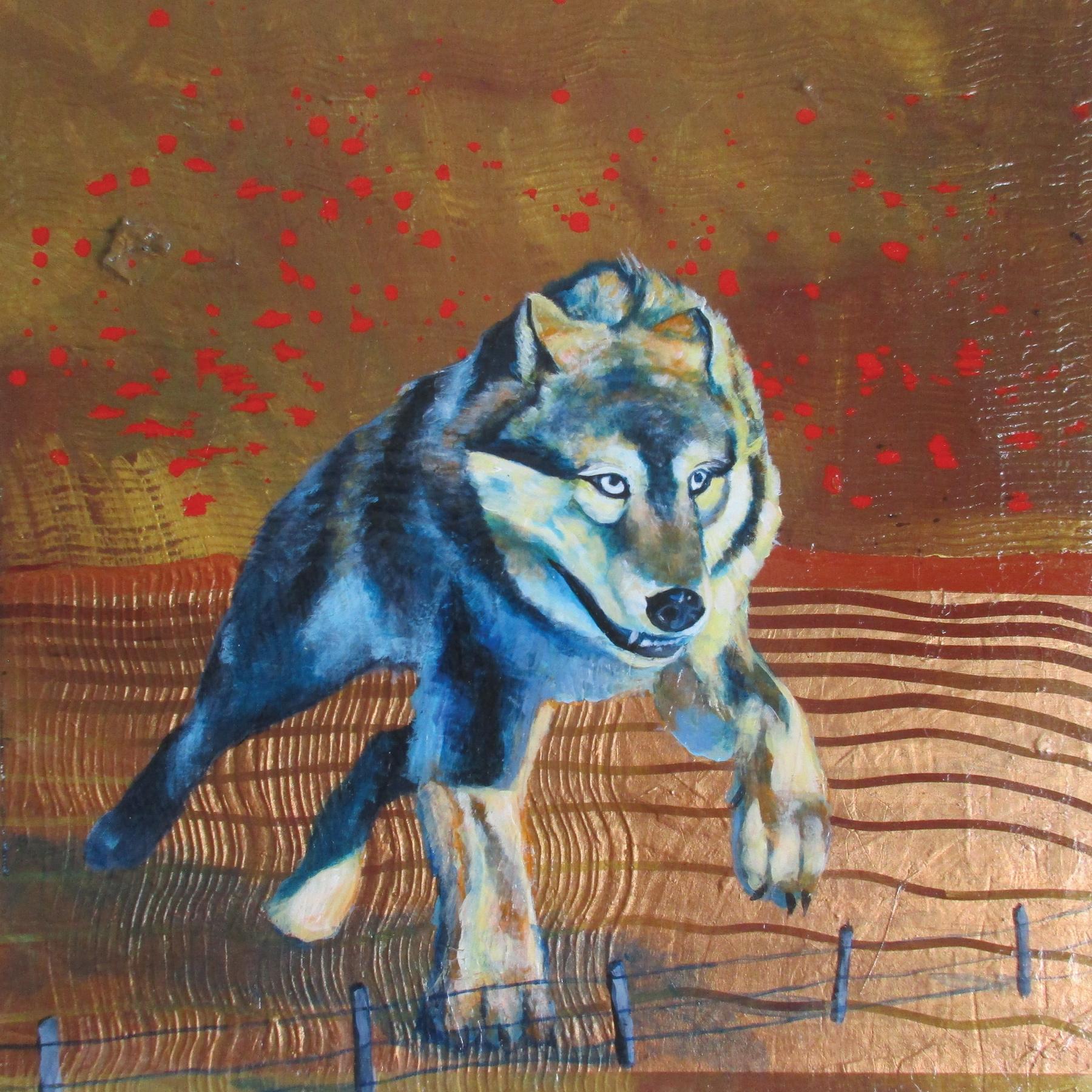 big bad wolf 20x20
