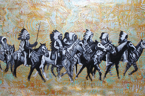 White Tiger Clan print