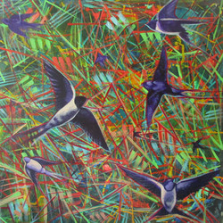 OF THE SWALLOW #2_24X24