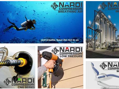 Nardi 空气压缩机--源自 50 多年历史的意大利厂商