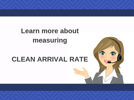 Why You Need to Measure CLEAN Arrival Rate