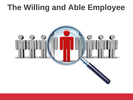 The Willing and Able Employee