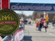 Fast Finishers Celebrate a Long-Awaited 2021 Carmel Marathon Weekend