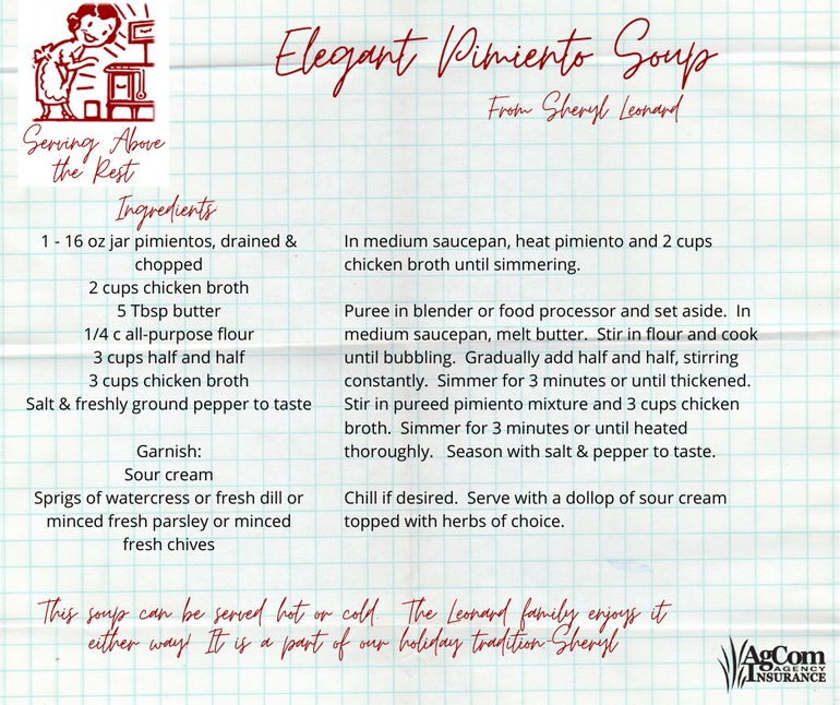 Elegant Pimiento Soup