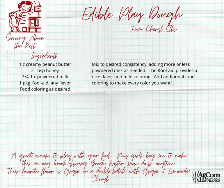 Edible Play Dough