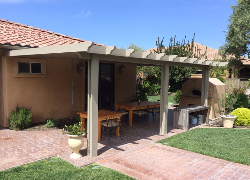 31.  Solid patio cover - Stockton