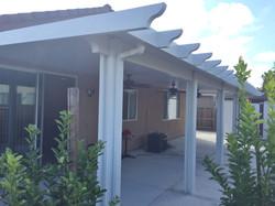 22.  Solid patio cover - Stockton
