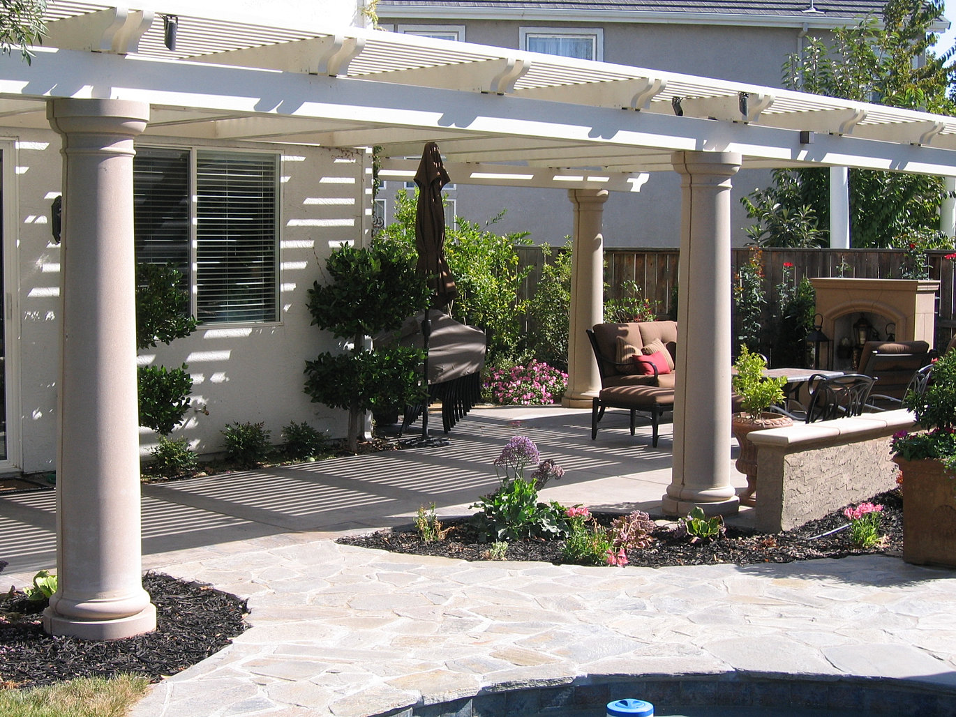 Flagstone And Patio Covers