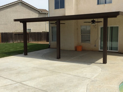 14.  Solid patio cover - Stockton