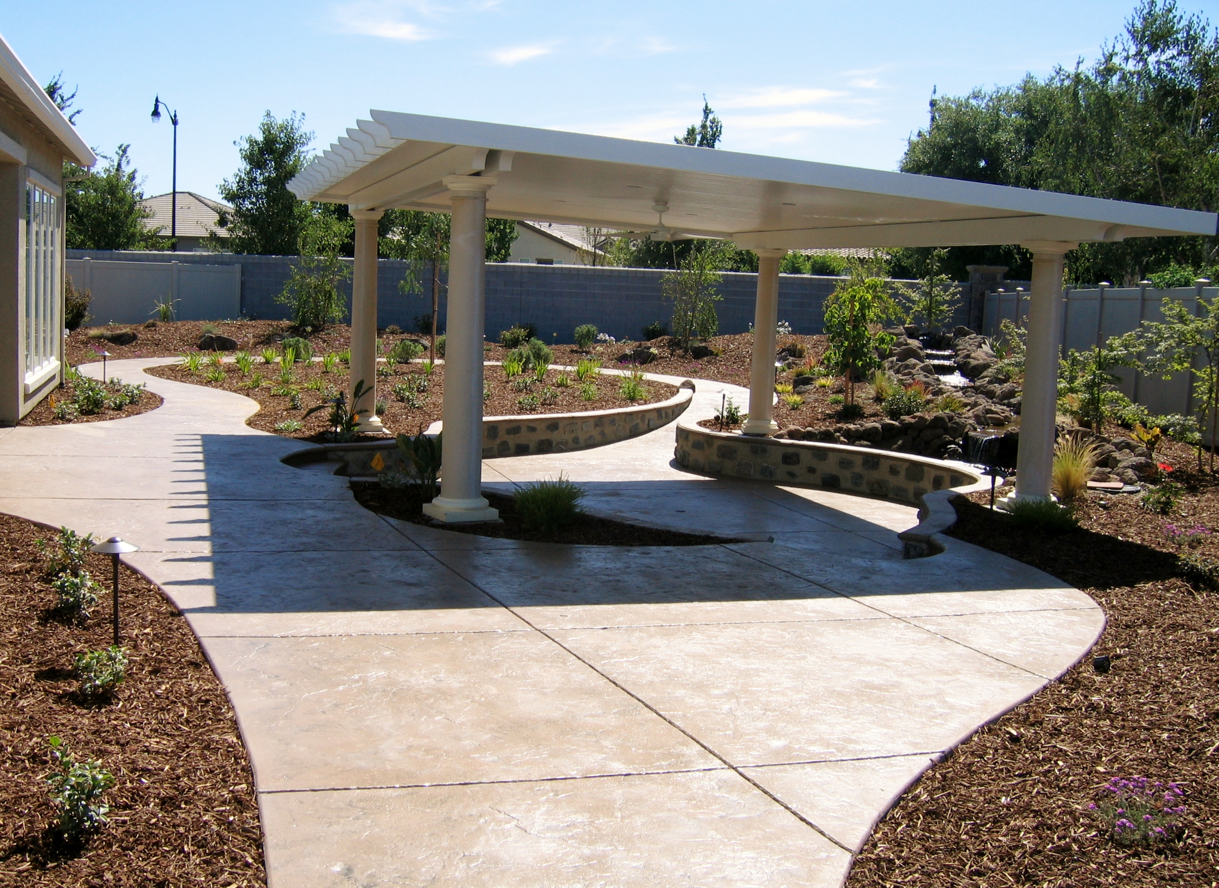 2.  Aluminum Patio cover in Manteca