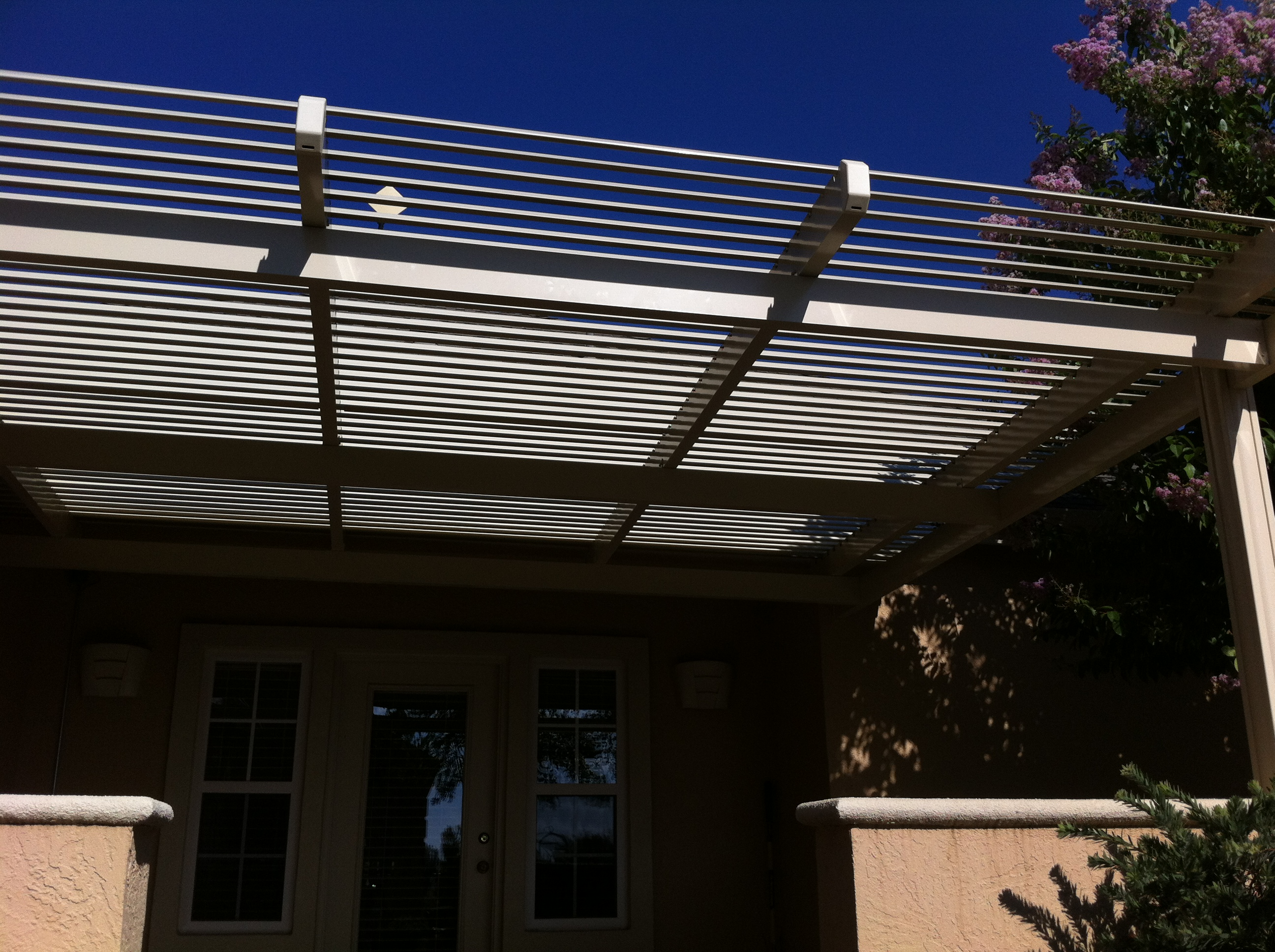 26.  Solara adjustabe patio covers