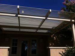 26.  Solara adjustabe patio covers