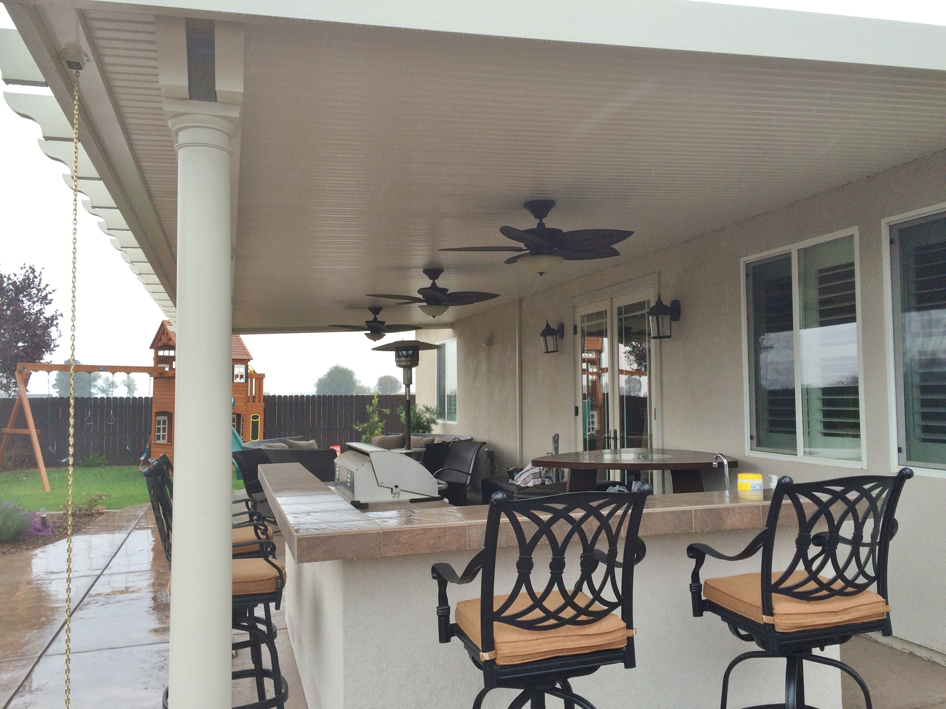 23.  Solid patio cover - Elk Grove