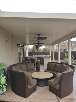 17.  Solid patio cover - Galt