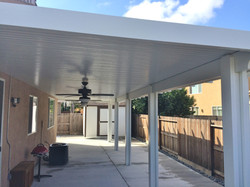 11.  Solid patio cover-Riverbank