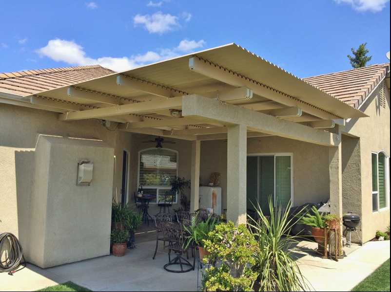 34.  Solara patio cover - Manteca