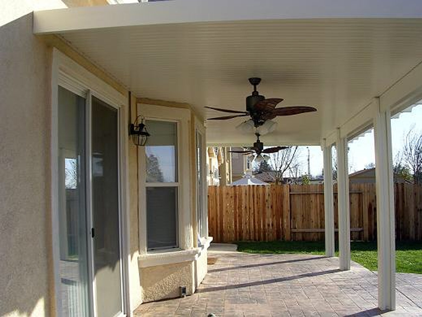 Solid Patio Cover In Elk Grove