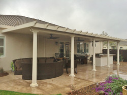 18.  Solid patio cover - Galt