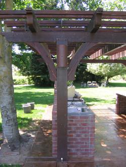 Open air patio cover - Lodi