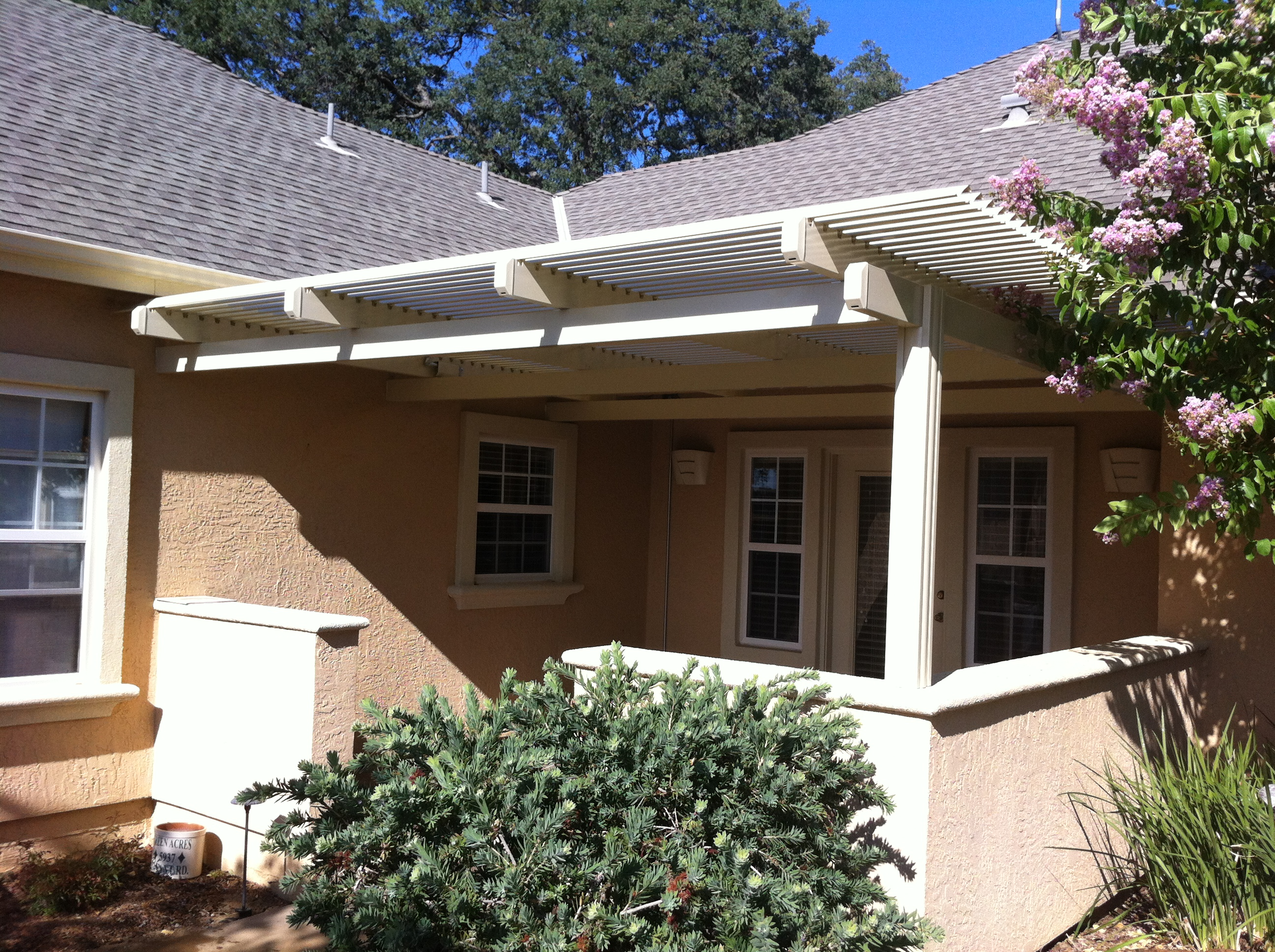 20.  Solara patio cover - South Sac