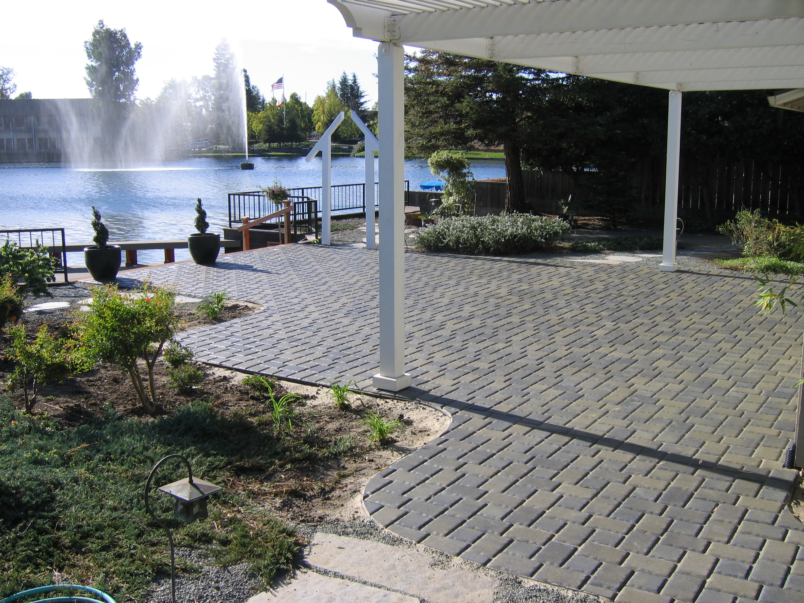 6.  Pavers and patio covers-Stockton