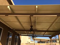 30.  Solara adjustable patio covers