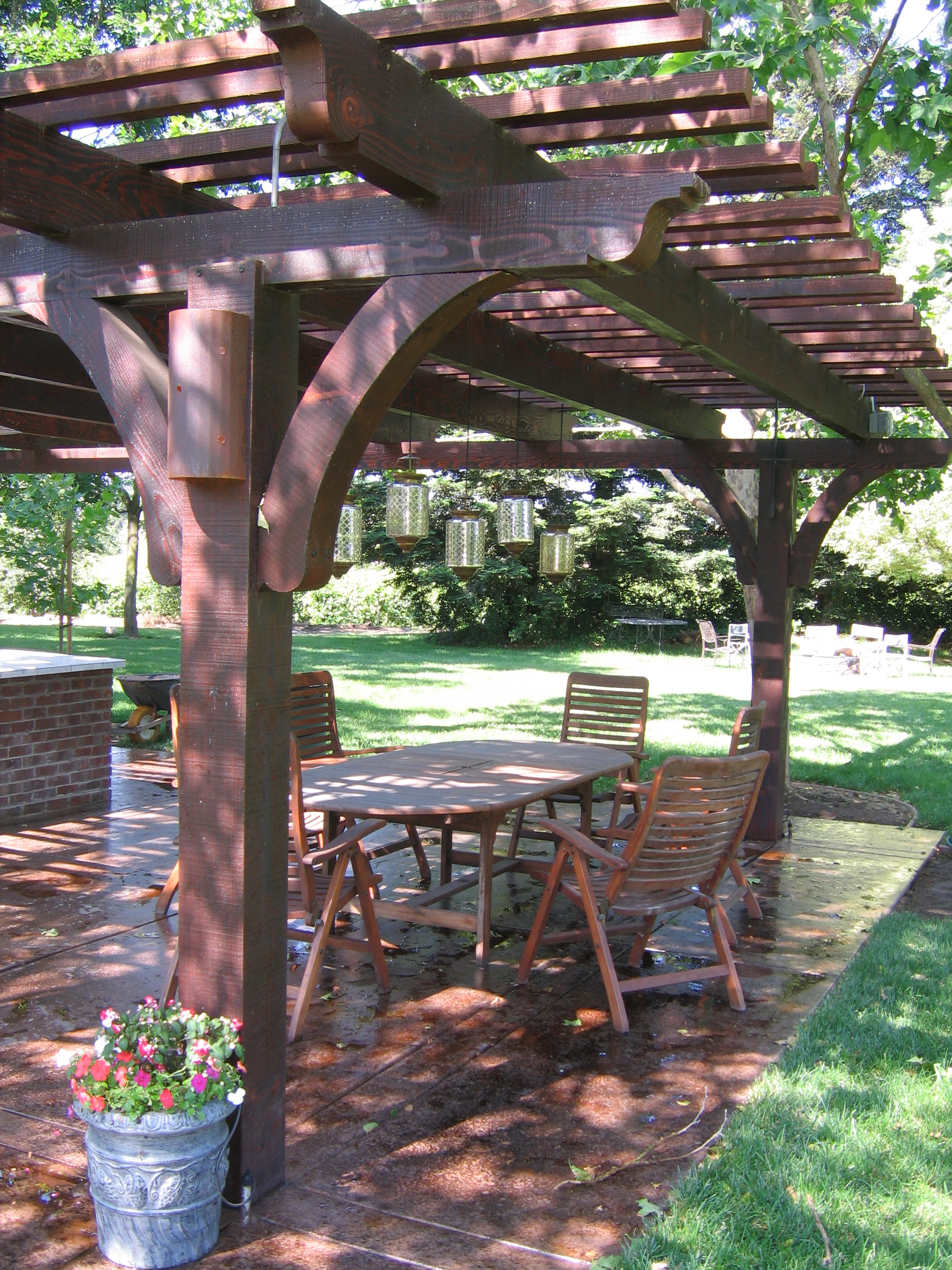 21.  Open wood patio covers - Lodi