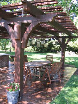 21.  Open wood patio covers - Lodi