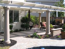 7. Lattice style patio covers