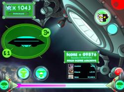 UI Score Screen Concept